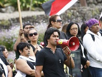 HIKOI LEADER: John McGrath will hold another anti domestic violence march on Waitangi Day.