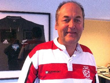 LOCAL BOY: New chief executive officer of the Wairarapa-Bush Rugby Union Tony Hargood is returning home.