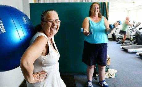 ROAD TO RECOVERY: Sherryl Browne (left) and Shaunna Stevens are taking part in the Walkabout Wonders exercise group.