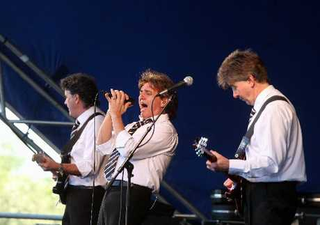 The Hollies concert at Church Rd Winery, Taradale, Napier. Photographer: Duncan Brown