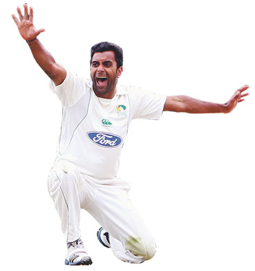 COLLECTIVE SPIN: Tarun Nethula took a match-winning six wickets but deflected praise on to the team.