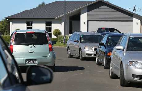 STRANDED: Narrow streets in new subdivisions are causing access problems.