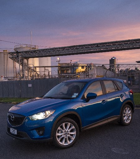 The new Mazda CX-5 has an impressive diesel engine.