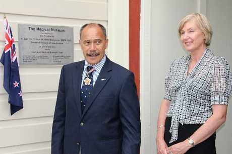 SPECIAL ROLE: Governor General Sir Jerry Mateparae and Lady Janine Mateparae at the Cottage Hospital.