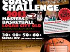 The annual East Coast Challenge Masters Basketball carnival will be on the Queen's Birthday long weekend. Enquiries: Jim Kerr:  eastcoastchallenge2013@gmail.com