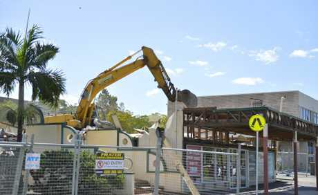 One of Gladstone's oldest buildings, the Gladstone Civic Theatre, was demolished a few years after losing its heritage listing status.