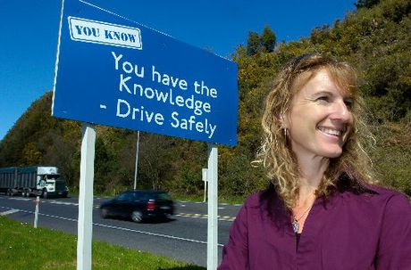 Rotorua District Council road safety co-ordinator Jodie Lawson