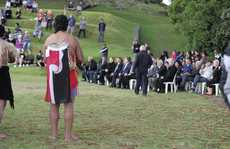 The Waitangi Day dawn service on Mt Drury.