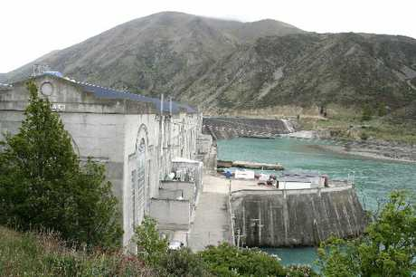 UPGRADE: The Waitaki Dam is in line for a $40 million-plus refurbishment over four years. PHOTO/FILE