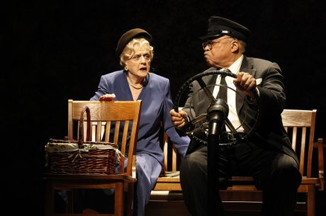 Angela Lansbury and James Earl Jones.