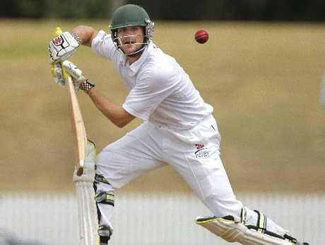 Bay opener Peter Drysdale scored 89 in the Bay's last hit out before tomorrow's Hawke Cup defence against Manawatu. Photo / George Novak