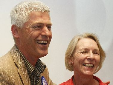 Tim Macindoe and wife Anne