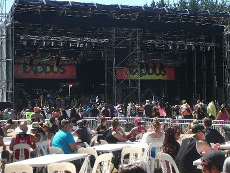 The Exodus reggae festival went reasonably well, according to police. Photo / APN