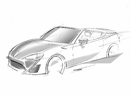 The Toyota FT-86 Open will be unveiled at the Geneva International motor show in March.