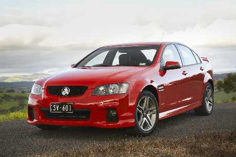 Holden's VE series Commodore sedan.