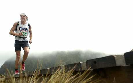 Rotorua's Mark Beesley in action at last year's Speight's Coast to Coast. Photo / File