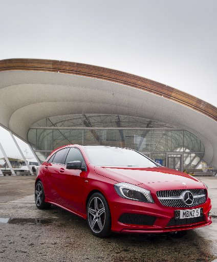 The new A-Class 250 Sport turns heads, with the design radically different from the previous A-Class.