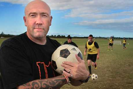Ritchie Howard says the only way is up for Maycenvale United Club after a mass exodus of players. Photo / Warren Buckland
