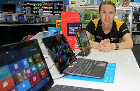 E-BOOKS IN: Harvey Norman franchisee Bec Swindell said this year will be the year of the tablet.