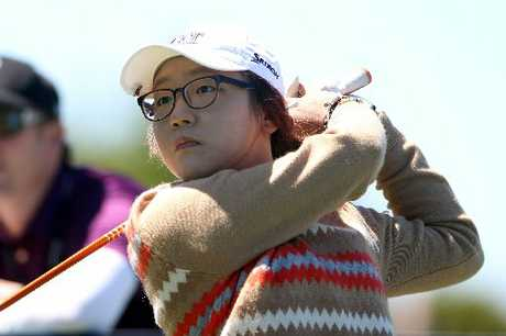 Fifteen-year-old Auckland schoolgirl Lydia Ko, the world's No. 1 amateur golfer.
