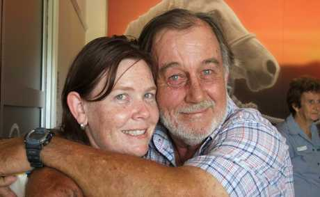 SPECIAL BOND: A special bond was formed between Lucy Connelly and Rod Hartwig when he plucked her to safety from a tree.