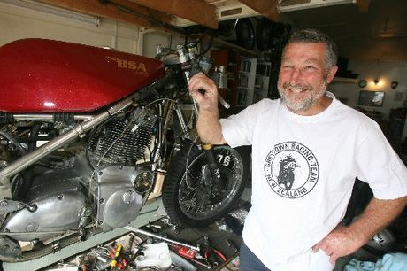 ISLE OF MAN: Veteran Greytown motorcycle racer Doug Fairbrother is mounting his fifth competitive bid at the Isle of Man in the Classic TT Pre-1974 up to 850cc class on his 1971 BSA Rocket, pictured, which is capable of a top speed of more than 250km/h.