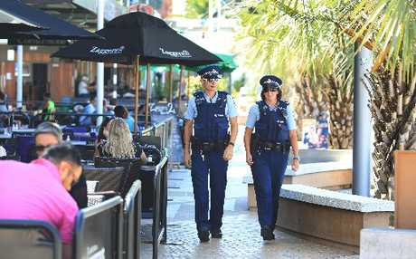 Local police are taking to the streets in a show of force aimed at keeping the community safer.