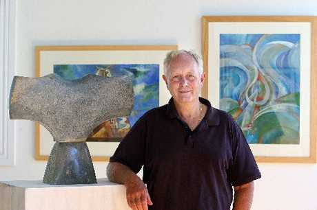 LIFETIME WORK: Former Wanganui son, sculptor and painter Hamish Horsley's works will be exhibited at the WHMilbank Gallery on Bell St from Monday to March 17.