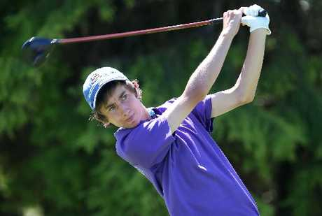 LOCAL SUCCESS: Mount Maunganui member Bailey Smith won the New Zealand Men's Foursomes Championships with his partner Compton Pikari.
