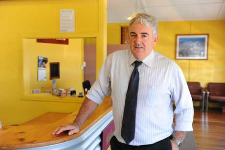 HOUSING SHORTAGE: Michael Dempsey from Michael's Real Estate says there is a shortage of rental properties available in Bundaberg. Photo: Mike Knott / NewsMail