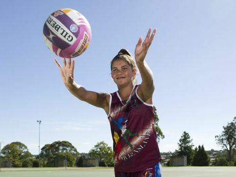 Kiara Taylor will represent the Australian under-14 Indigenous netball team.
