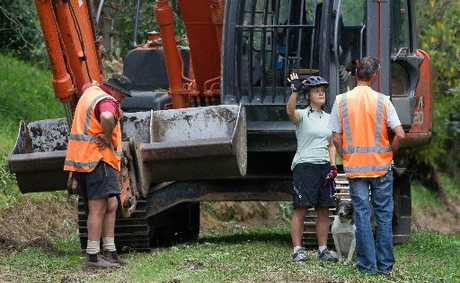 MAKING A STAND: Blomfield St resident Hilary Quemby is appalled Rotorua's council is building a new riding/walking track through a little piece of paradise next to the Mangakakahi Stream.