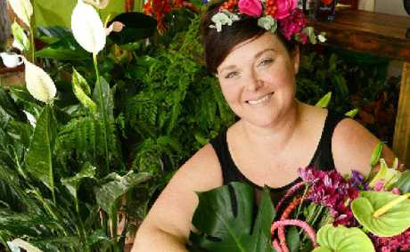PREPARED: Lismore florist Anna Hunter, owner of Treeling Studio.