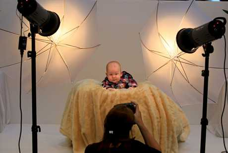 Four-month-old Axle Murphy was the first baby to be photographed as part of the 2012 Bay of Plenty Times Baby Book competition.