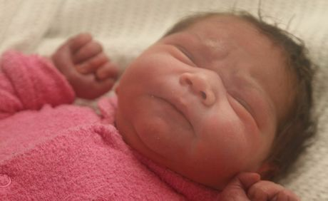 Sophia Singh who was born at Tweed Hospital on February 13 weighing 3780g parents are Melissa Cattell and Aman Singh and she is a sister for Hamelia