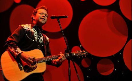 HELPING HAND: Musician Troy Cassar-Daley was moved to come to the assistance of Jo Goldstein's family.