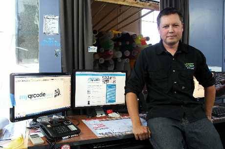 KEEN ONLINE: Oamaru businessman Lance Streeter promotes the use of social media for all local businesses. PHOTO/REBECCA RYAN
