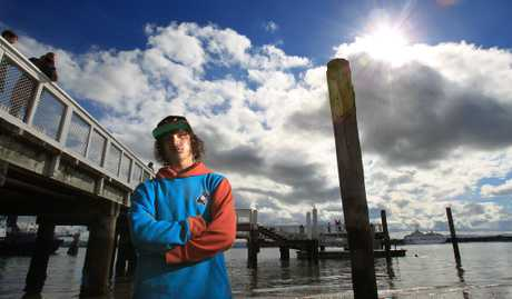 Josiah Iraia is recovering after a near-death experience at Salisbury Wharf.