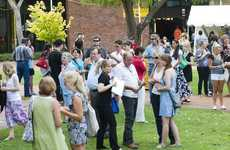 USQ students and their families relax at the O Week family barbacue last year.