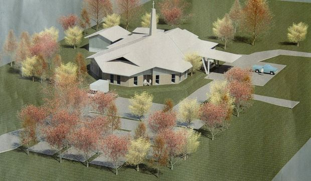 Plans for new building at Anglican Church of St Anne's in Highfields.
