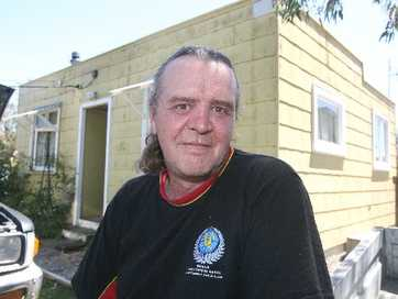 Volunteer Martinborough firefighter Peter Fisher is fighting to recover after he was brutally bashed while helping a friend last year.