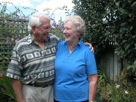 Maurice and Pamela Heyes of Taupo celebrate their diamond wedding anniversary today.