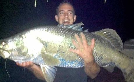 Dan Park caught and released this monster 125cm barramundi in the lower Maroochy River.