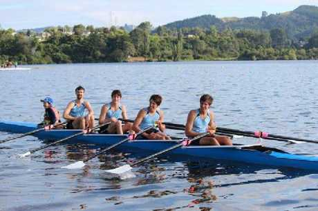Whangarei Rowing Club's North Island Championships gold medal-winning team will be aiming to claim the national title next week.