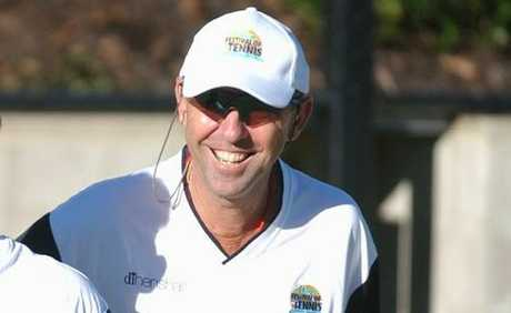 Tennis great Geoff Masters to help make a wish
