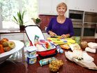 Simply Too Good to be True, Cookbook author, Annette Sym, promotes healthy eating.
