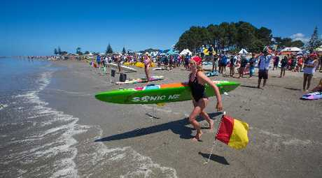 Former Mangawhai surf lifesaver Hannah Williams will be heading back up north this weekend to compete for Red Beach at the Northern Region championships in Ruakaka.