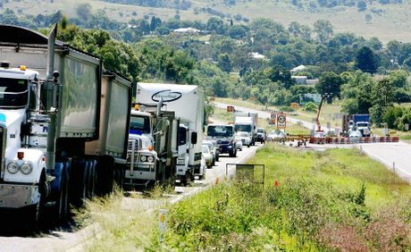 There were 285 crashes on the Warrego last year with 40% resulting in serious injury.