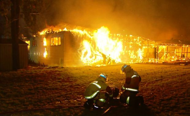 Police are investigation the fire that destroyed the Millmerran Sports Club at the weekend.