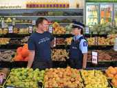 Community centres, parks, schools and other areas are visited but the focal point for many of these foot patrols are the main shopping areas.
